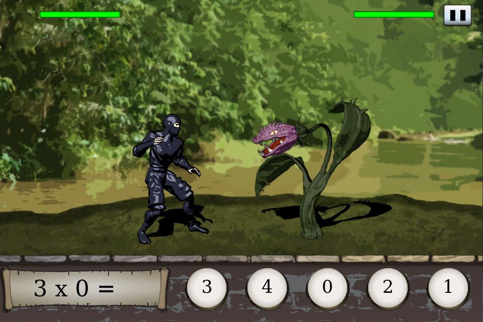 Times Ninja Adventure - Ninja vs Killer Plant