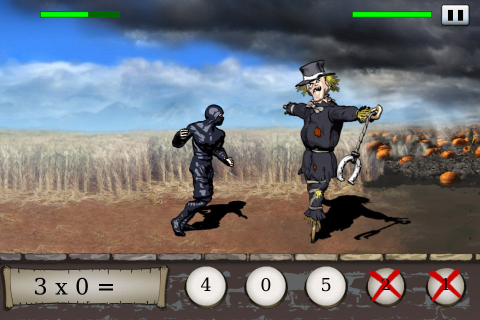 Times Ninja Adventure screenshot first level